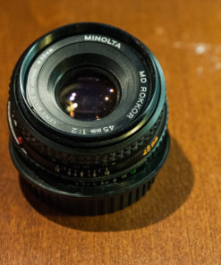 Minolta MD Rokkor 45mm f/ 2