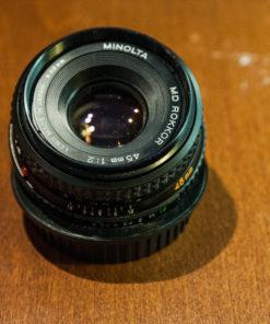 Minolta MD Rokkor 45mm f/ 2