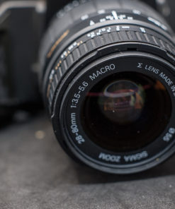 Pentax SFX-n + Sigma 28-80mm AF