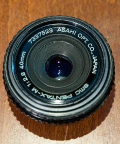 SMC Pentax-m 40mm F2.8(pancake) PK-mount