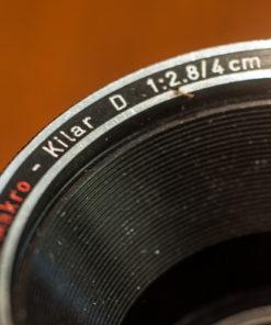 Heinz Kilfit Munchen Makro-Kilar 4cm F2.8 (Exakta Mount)