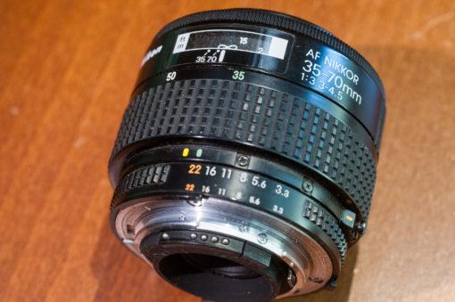 Nikon 35-70mm F3.3-5.6