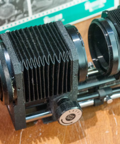 Macro bellows for canon FD