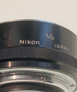 Nikon F, lifesize extender , M2