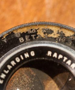Betax #3 large format shutter (CLA) + Wollensak Raptar enlarging lens 162mm F4.5