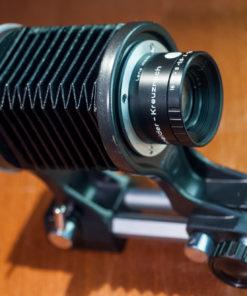 Macro Bellows setup for Nikon F with Schneider kreuznach 50mm F2.8