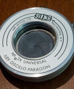 Ilex No. #3x Universal large format shutter,