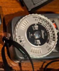 gossen sekonic pentax polaroid lexposuremeters