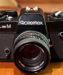 Rolleiflex SL35M + Plannar 50mm F1.8