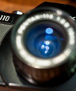 Pentas Auto 110 set + Tamron Aux telephoto 3x