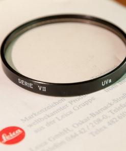 Leica Serie VII UVa filter