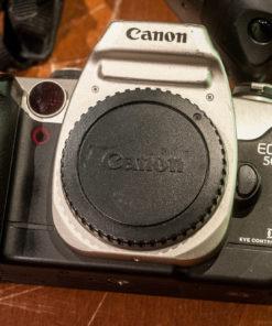 4x Canon AF Analogue EOS 650 + EOS50E