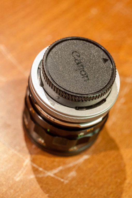 Macro Canon FL 50mm F3.5 + M5+M10+M20