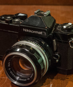 Nikon Nikkormat FT3 + Nikkor-s 50mm F1.4(AI adapted)
