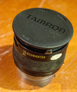 Tamron SP BBAR MC adaptall 2x teleconverter