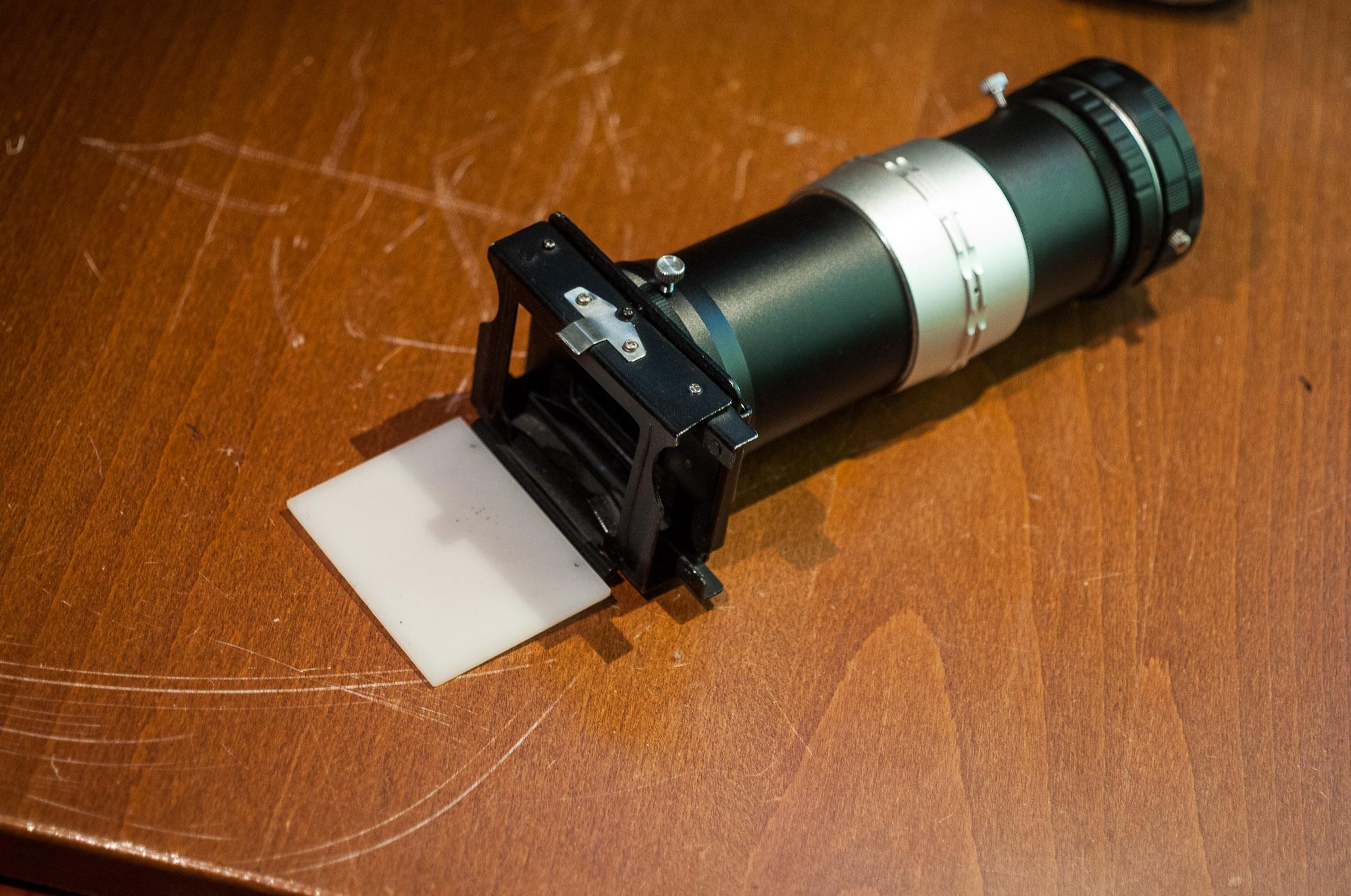 Slide copier / 35mm digitizer Nikon F