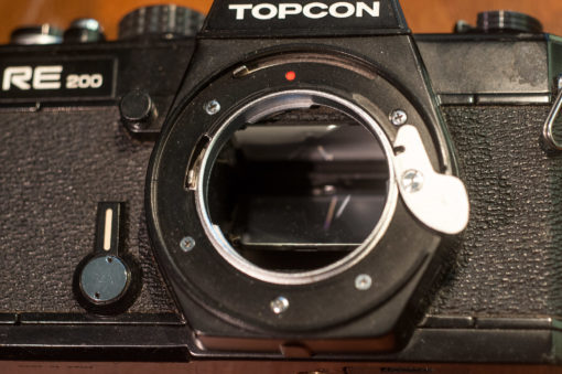 Topcon RE200 + Tamron SP 28-80mm F3.5-4.2 (Adaptall-2)