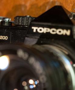 Topcon RE200 + Hanim 28mm F3.0
