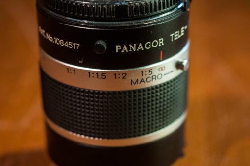 Panagor 3x macro/teleconverter (MD/MC mount)