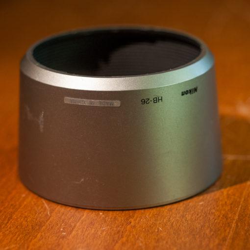 Nikon HB-26 lenshood silver Nikkor AFs 70-300G