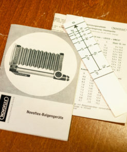 Novoflex Macro Bellows + 75mm lens