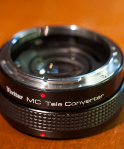 Vivitar MC teleconverter 2x - 4 (FL/FD)