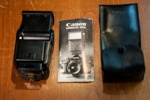 Canon Speedlite 199A (for Canon FD cameras)