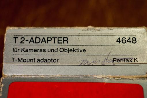 T2 adapter Pentax K (hama)