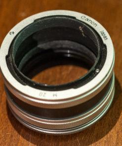 Canon Extentiontubes set M5+M10+M20 (FL/FD)