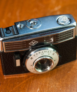 Agfa Paramat Halfframe 35mm camera