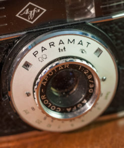 Agfa Paramat Halfframe 35mm camera