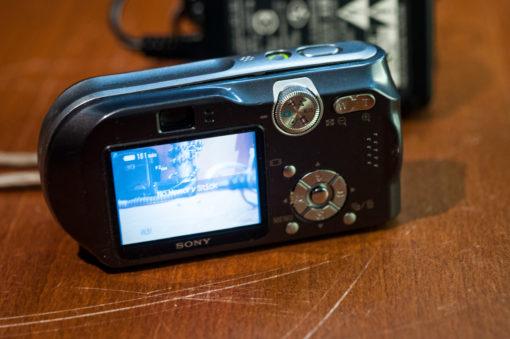 Sony P200- 7.2megapixel