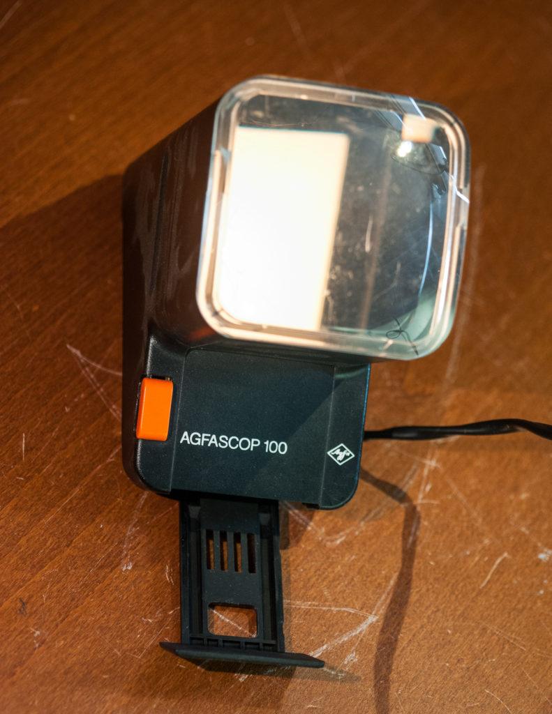 AgfaScop 100 5x5cm Slideviewer