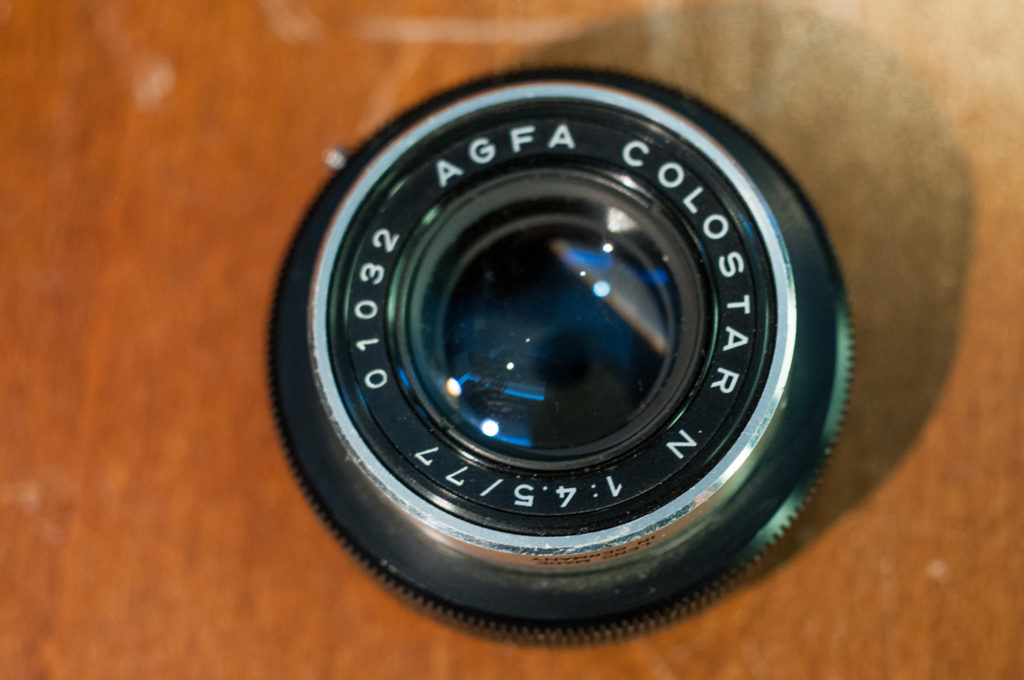 Agfa Colorstar n F4.5 77 MM bellows lens