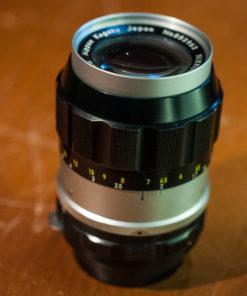 Nikon Nikkor-q Auto F3.5 135mm (non-Ai)