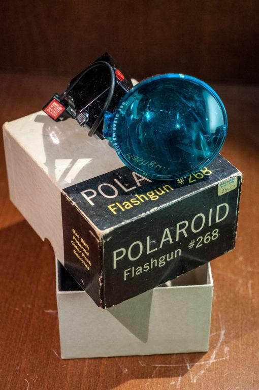 Polaroid Flashgun #268 in original box