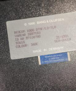 Bang & Olufsen BEOCOM 1000