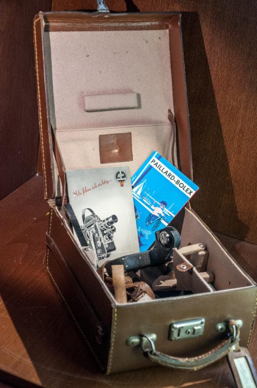 Bolex Paillard H16 Case with Accessoires
