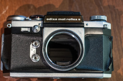 Wirgin Edixa Mat Reflex S + Edixa Reflex + 50mm F2.8