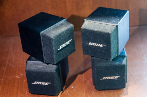 Bose Acoustimass AM-5 Cube System 2x Satelite boxes
