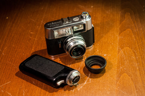 Voigtlander Vitrona First camera with Build-In Flash