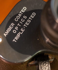 Amber coated Optics 7x50 binoculars Grey