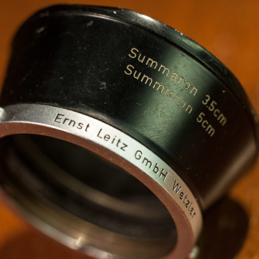 Leica Leitz Lenshood for Summaron 3.5cm of Sumicron 5cm