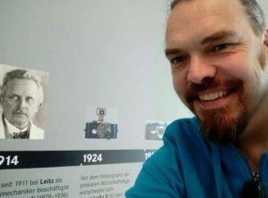Selfie Edwin Molenaar / Oskar Barnack
