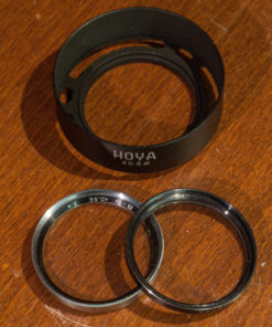 Hoya metal sunshade 2 filter 40.5mm
