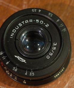 Lomo industar-50-2 50mm f3.5 M42 mount