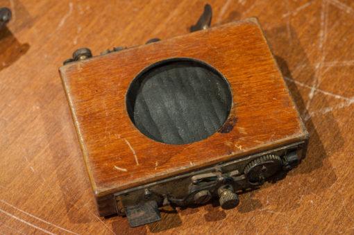 3x Vintage wooden 19th century wet plate shutter (parts)