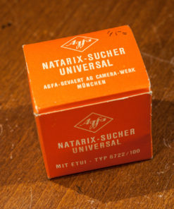 Agfa natarix universal viewfinder