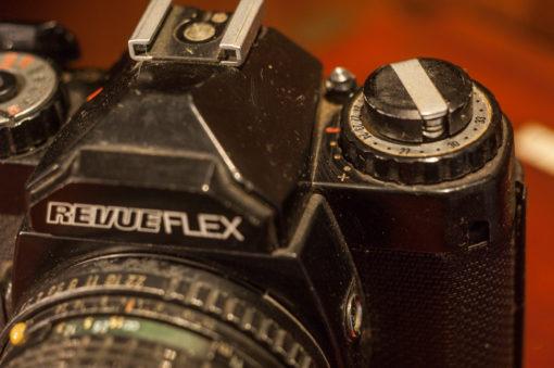 Revueflex AC2+ Pentax 50mm F1.7