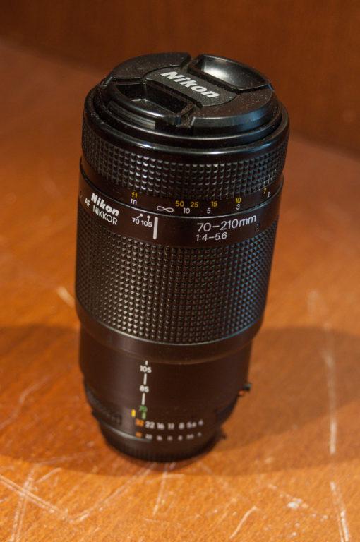 Nikon AF-Nikkor 70-210 F4.5-5.6